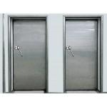 Холодильные, морозильные распашные двери